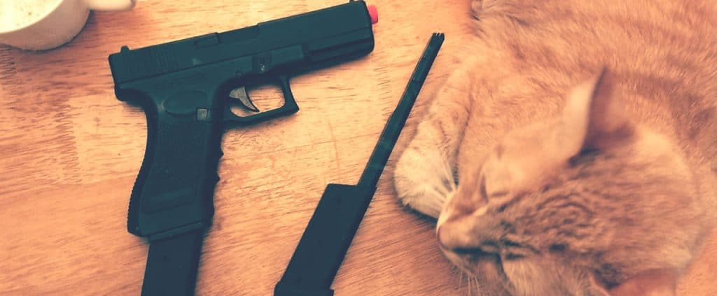 why should you purchase an airsoft pistol? Header image