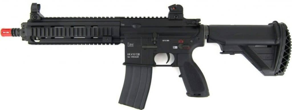 Is the Heckler & Koch 416 AEG Airsoft Gun, the best airsoft rifle?