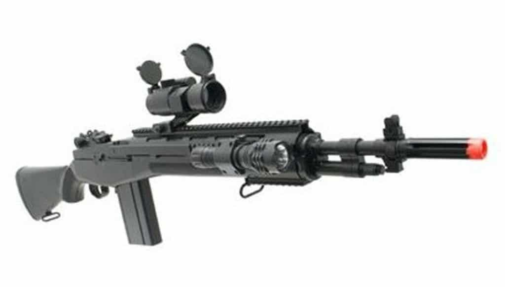 TSD M100 300 FPS Best Airsoft Sniper Rifle with Sight
