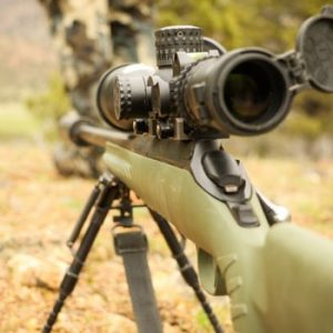 best airsoft sniper rifle photo showing a scope & rifle on a bipod