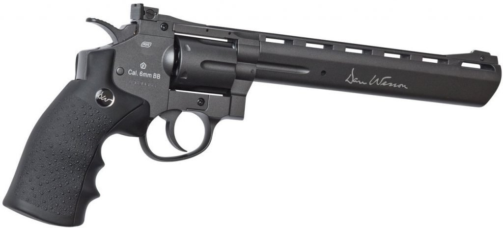 Choosing the Best Airsoft Revolver can be difficult, this Dan Wesson ASG CO2 Revolver is a good option.