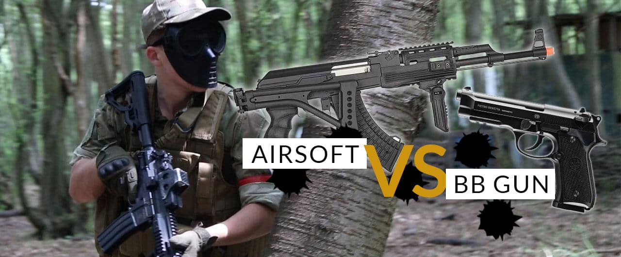 Airsoft Vs BB Guns  What's the difference? AirsoftCore Compare