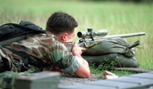 Airsoft sniper rifles can go up to 500 fps or more with 0.20g bbs