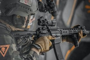 best airsoft assault rifle photo of elite force m4 operator