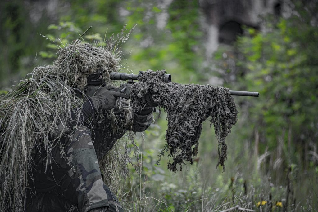how to use a ghillie suit hero image for airsoft blog