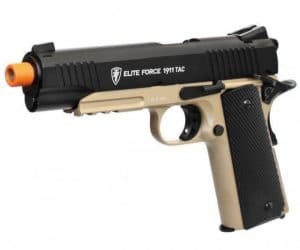 kwc gas blow back pistol from right