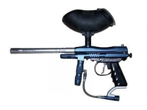 paintball marker to compare to an airsoft gun